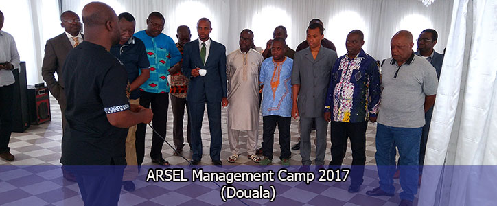 Camp de gestion d'ARSEL 2017